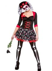 Day of The Dead Darling Costume (HF518)